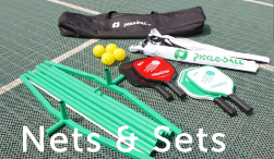 Pickleball Net & Paddle Sets